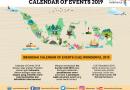 Siap Sambut 20 Juta Kunjungan Wisman, Kemenpar Promosikan 100 Calendar Of Events CoE Wonderful 2019